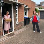 Winkeliers van Berkel Centrum verrassen moeders met Moederdag